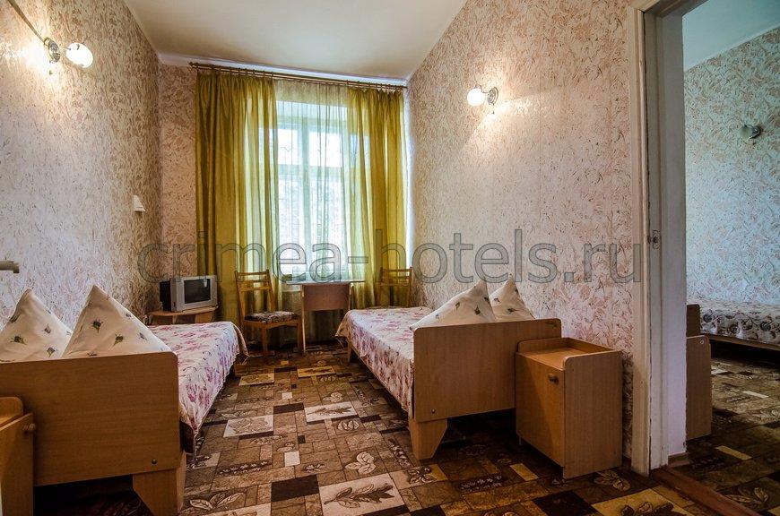 Санаторий Фемида Евпатория 2 комнатный 4 местный стандарт,3 корпус