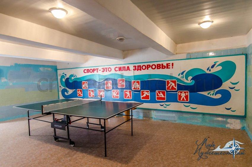 Детский Оздоровительный Лагерь Россия Евпатория ДОЛ Россия, инфраструктура