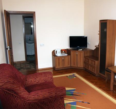 2-х комнатный 2-х местный «Люкс», корпус №1 (37,5 кв.м)