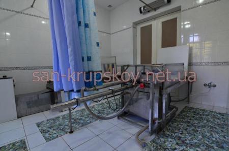 Лечебное отделение  - гидропланшетная терапия