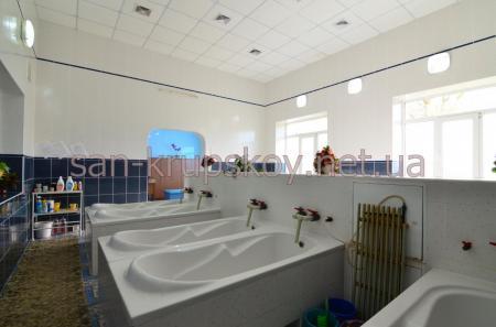 Лечебное отделение  - ванное отделение