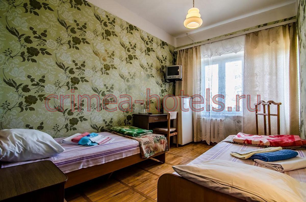 Санаторий Приморье Евпатория 1 комнатный 2 местный Эконом (Х,ТВ,Б)