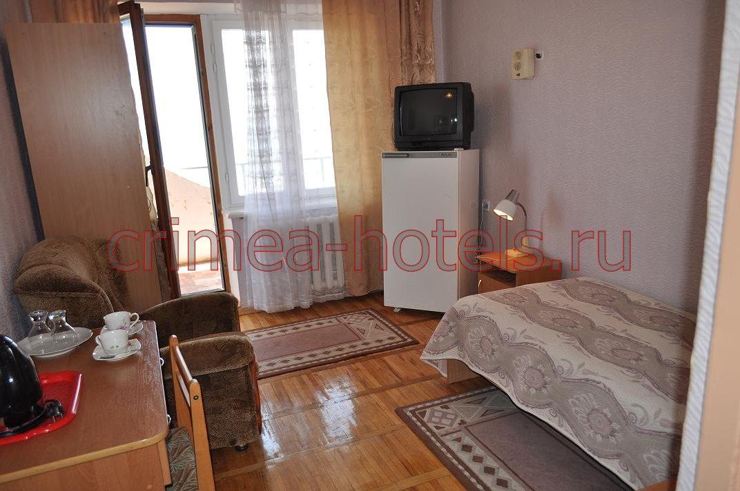Санаторий Приморье Евпатория 1 комнатный 1 местный Стандарт  (Х,ТВ,Б)