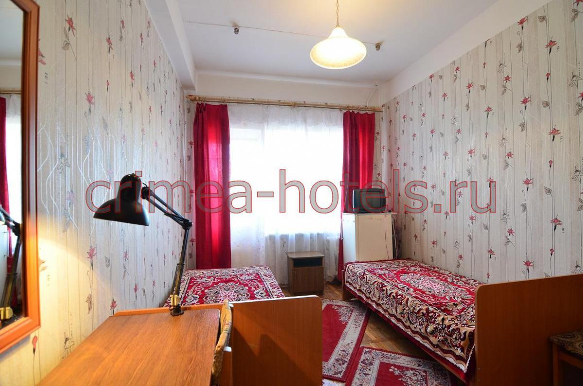 Санаторий Приморье Евпатория 1 комнатный 2 местный Стандарт  (Х,ТВ,Б)