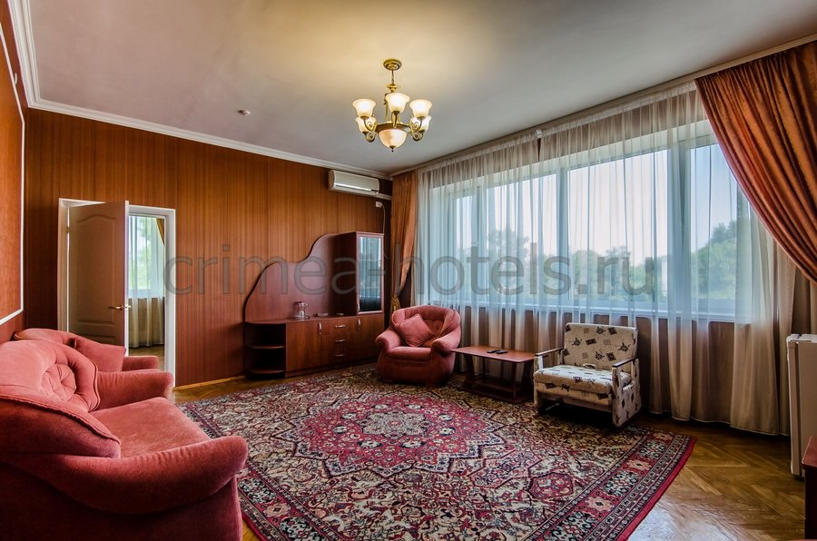 Санаторий Приморье Евпатория Корпус №2 - 2 комнатный 2 местный улучшенный