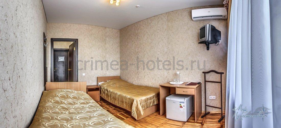 Санаторий Приморье Евпатория Главный корпус - 1 комнатный 2 местный Стандарт улучшенный