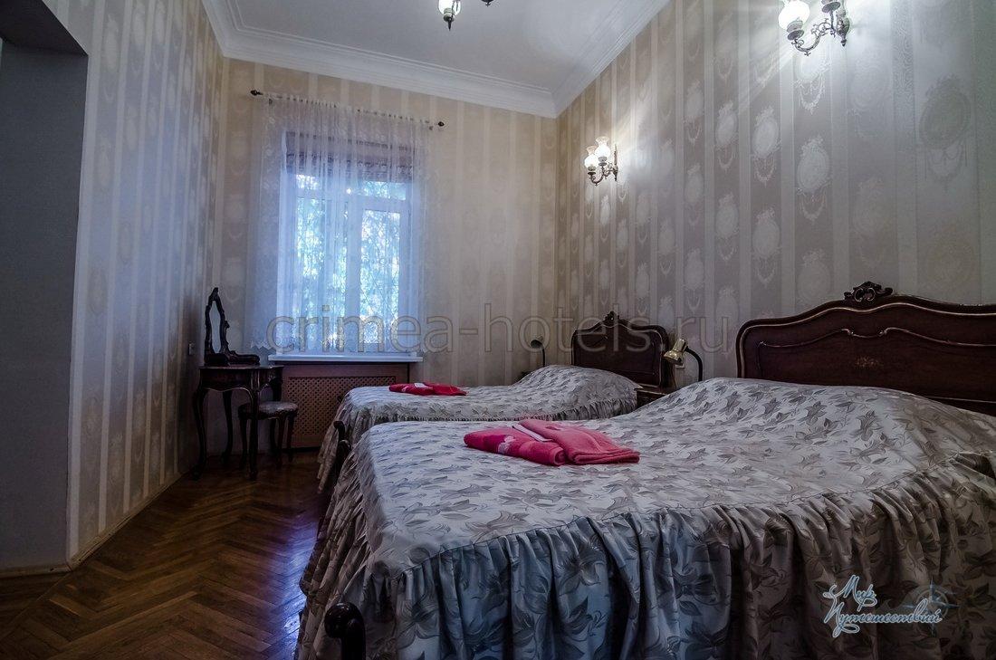 Санаторий Приморье Евпатория Корпус №1 - 2 комнатный 2 местный
