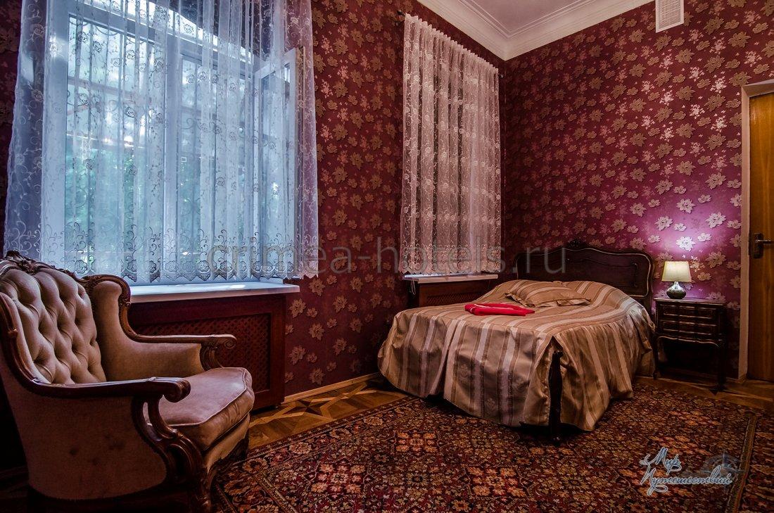 Санаторий Приморье Евпатория Корпус № 1 - 2-комнатный 2-х местный улучшенный