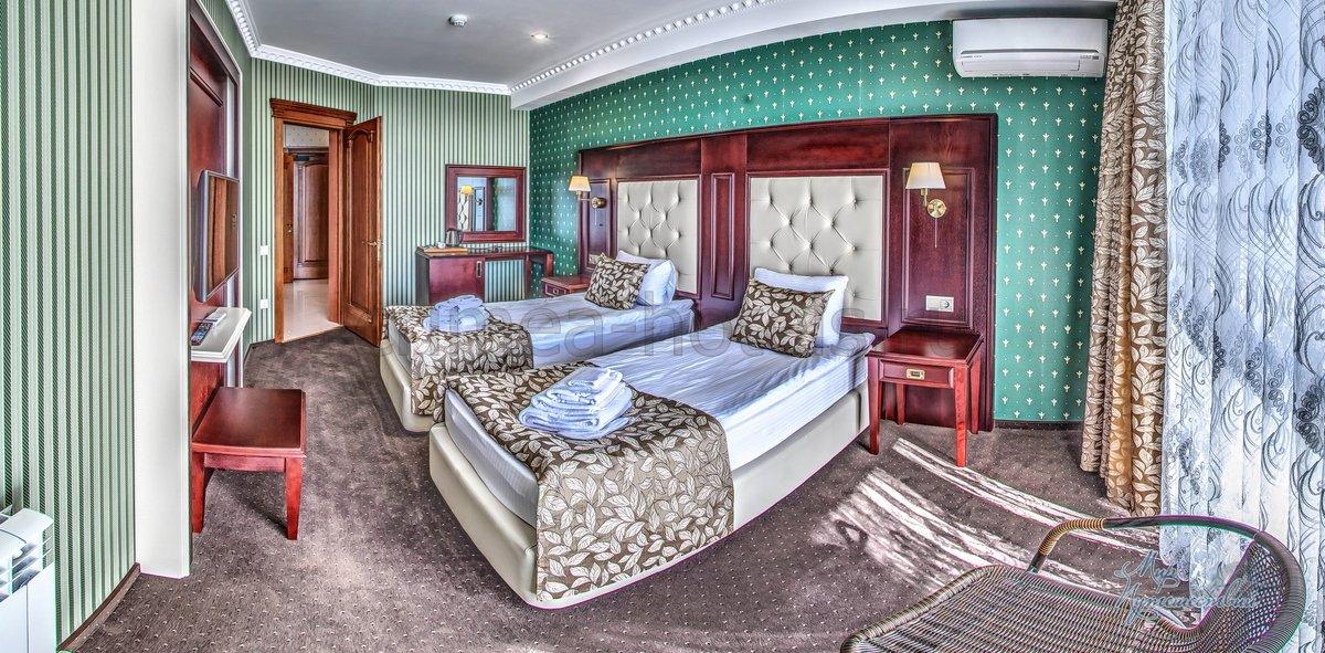 Отель Ribera Resort & SPA (Рибера)  Евпатория Семейный Люкс