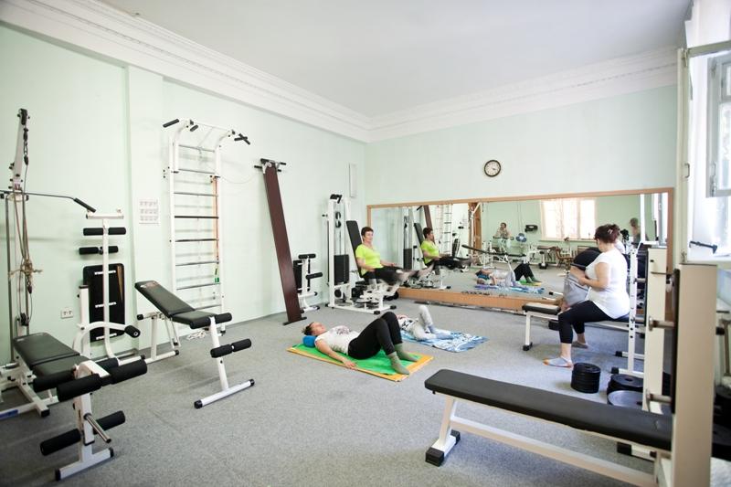 Пансионат Дом Творчества АКТЕР Ялта тренажерный зал