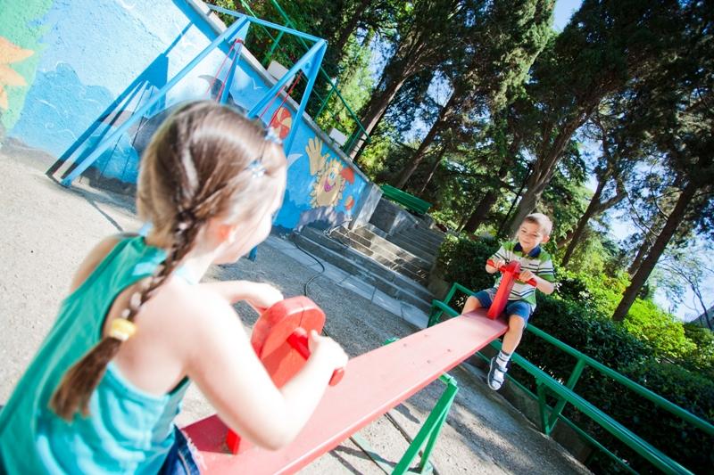 Пансионат Дом Творчества АКТЕР Ялта Детская площадка