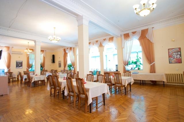 Пансионат Дом Творчества АКТЕР Ялта Ресторан