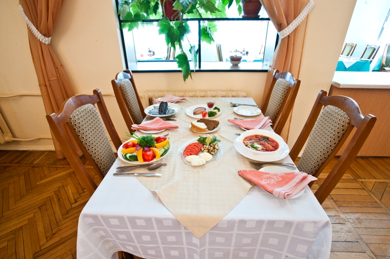 Пансионат Дом Творчества АКТЕР Ялта Ресторан комплексного питания