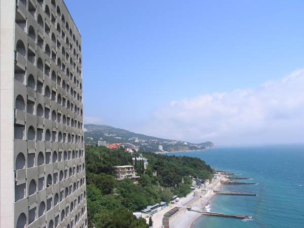 Санаторий Ай-Петри Ялта вид с балкона