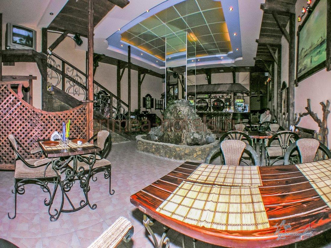 Гостиница Гезлевские Ворота Евпатория Кафе