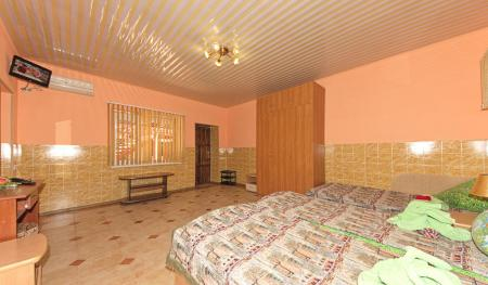 Люкс с 1 спальней и кухней