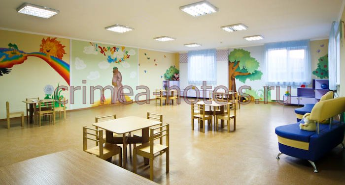 Детская комната в отеле Силенд
