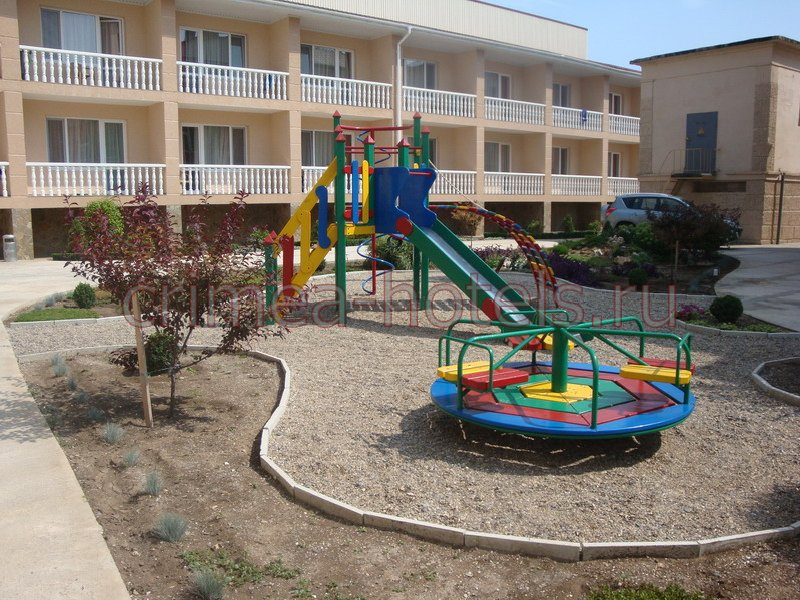 Пансионат Си-Ленд (Sea Land ) Силенд Евпатория Детская площадка