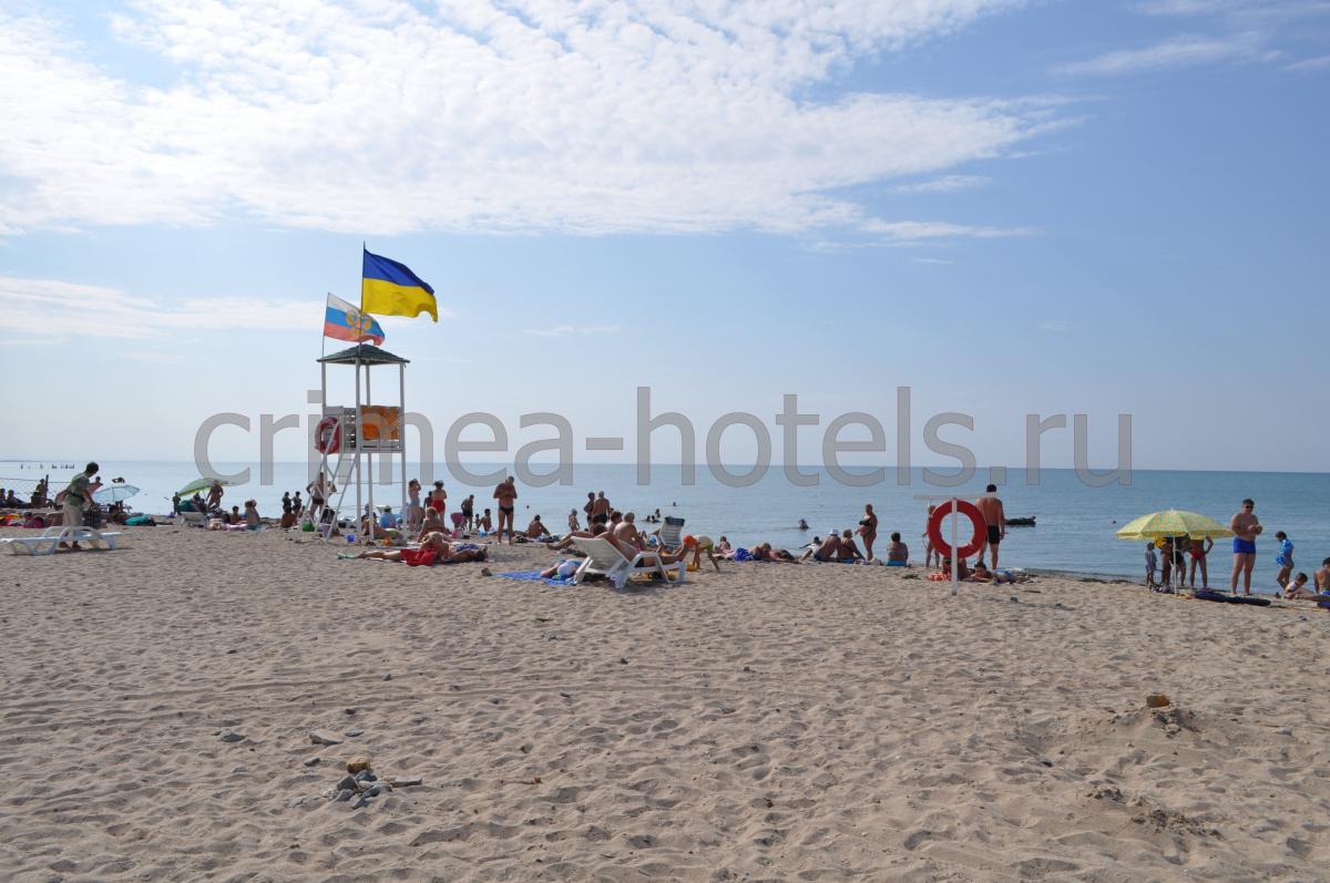 Пансионат Си-Ленд (Sea Land ) Силенд Евпатория Пляж