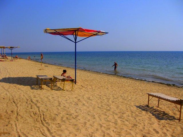 Санаторий Маяк Заозерное Пляж