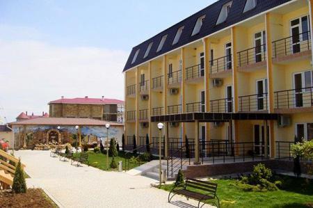 Отель Золотая рыбка Прибрежное