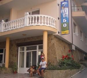 Отель Седьмое небо Утес Отель Седьмое небо