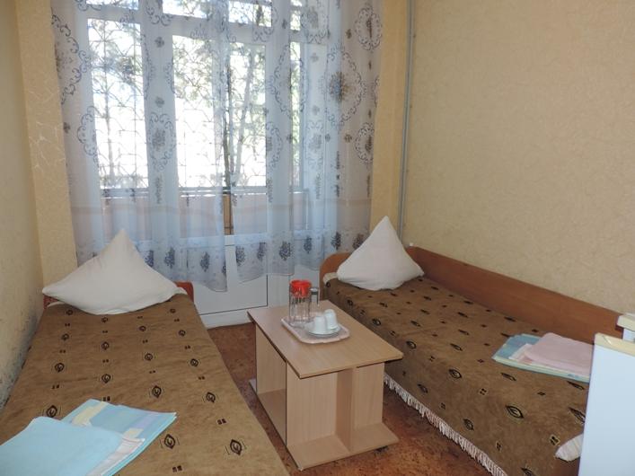 Пансионат Магистраль Евпатория 1 комнатный 2 местный номер с удобствами