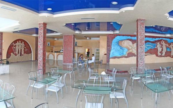Санаторий Коралл Евпатория ресторан