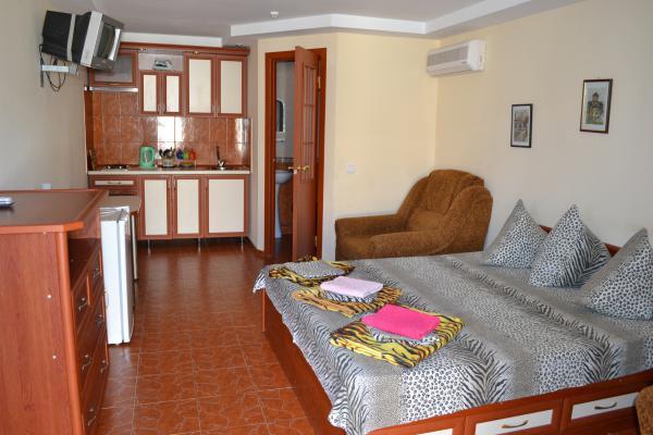 Апарт-отель Эллинги У моря (Дельфин 93) Евпатория 1 комнатный  2-4 местный №11