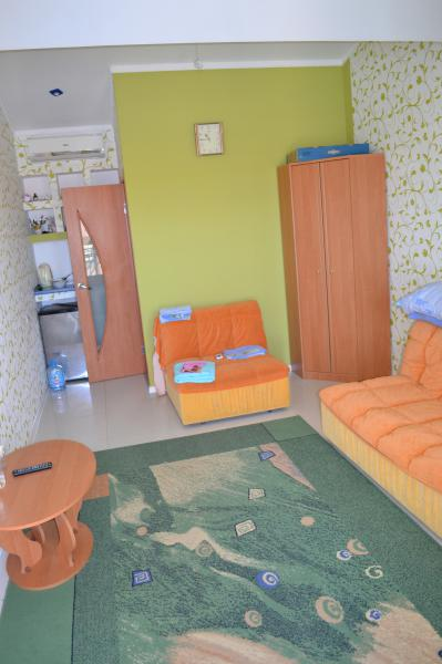 Апарт-отель Эллинги У моря (Дельфин 93) Евпатория 1 комнатный  2-4 местный №13а