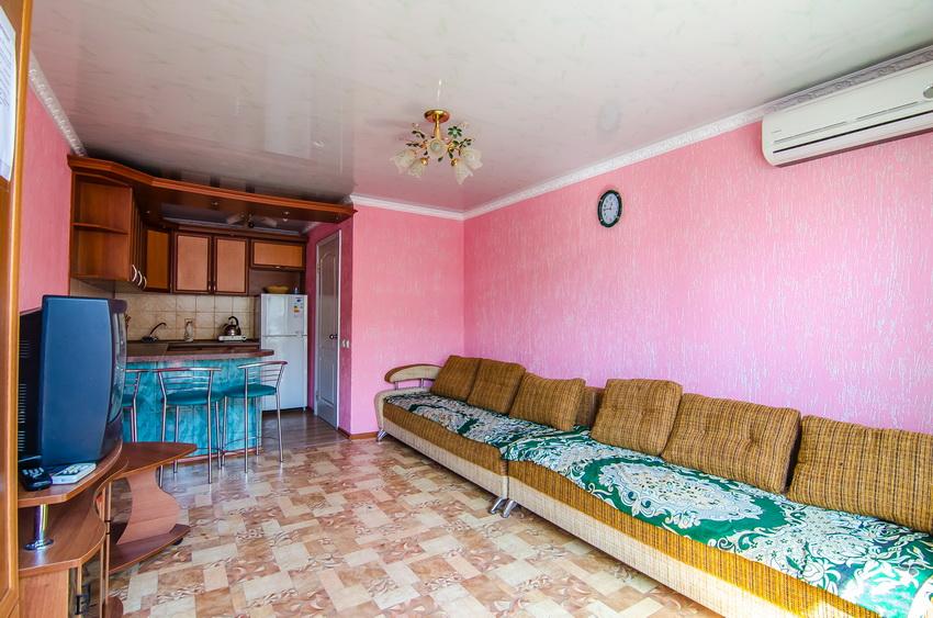 Апарт-отель Эллинги У моря (Дельфин 93) Евпатория 1 комнатный  2-4 местный №38