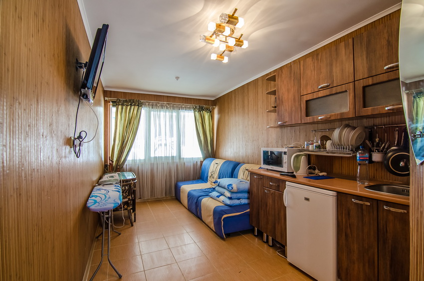 Апарт-отель Эллинги У моря (Дельфин 93) Евпатория 1 комнатный  2-3 местный №26