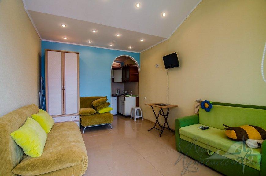 Апарт-отель Эллинги У моря (Дельфин 93) Евпатория 1 комнатный 2-4 местный №1а