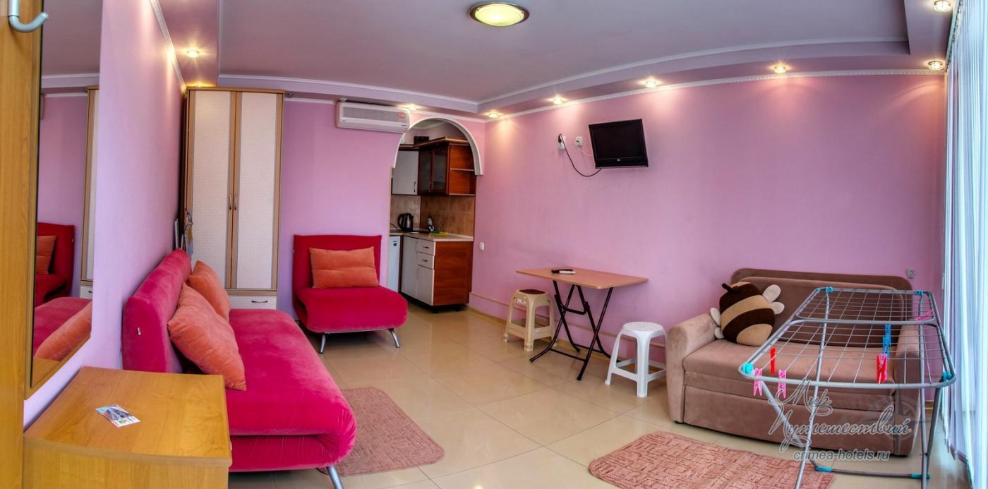 Апарт-отель Эллинги У моря (Дельфин 93) Евпатория 1 комнатный 2-4 местный №2