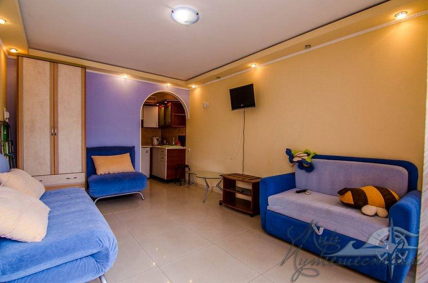 Апарт-отель Эллинги У моря (Дельфин 93) Евпатория 1 комнатный 2-4 местный №6