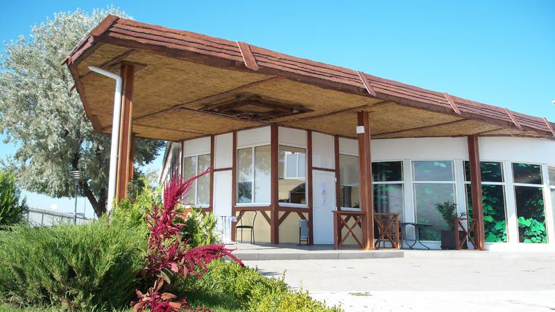 Гостиничный Комплекс Капля моря Песчаное Кафе в отеле Капля моря