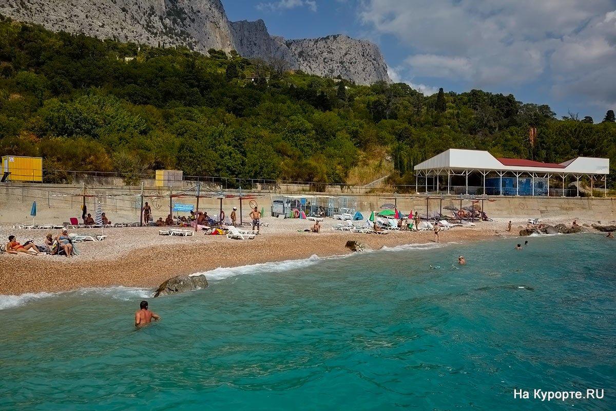 Пансионат Форосский берег Форос пляж