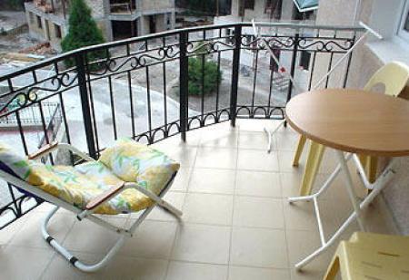Балкон номера полулюкс корпус №2