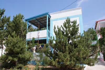 База Отдыха У Лукоморья Песчаное коттедж люкс двухкомнатный