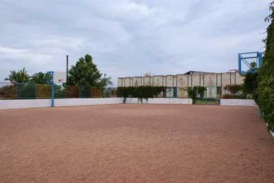 База Отдыха У Лукоморья Песчаное спортивная площадка