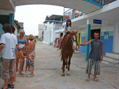 База Отдыха У Лукоморья Песчаное конные прогулки