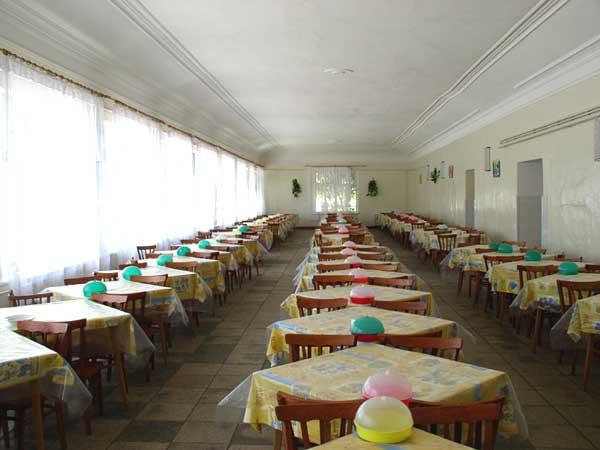 Детский Санаторий Радуга Евпатория столовая