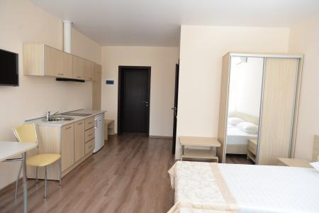 Апартаменты 2-местные 1-комнатные