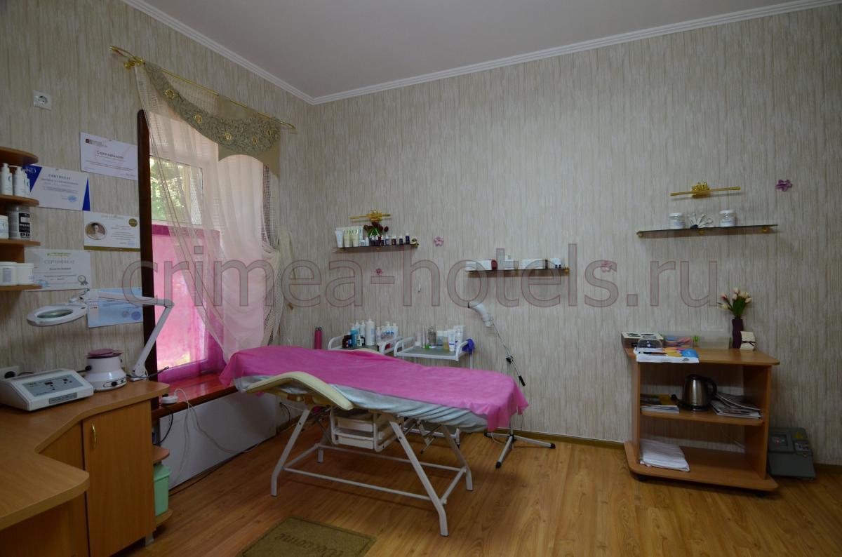 Гостиница Крым Евпатория Rich - косметологичекий кабинет