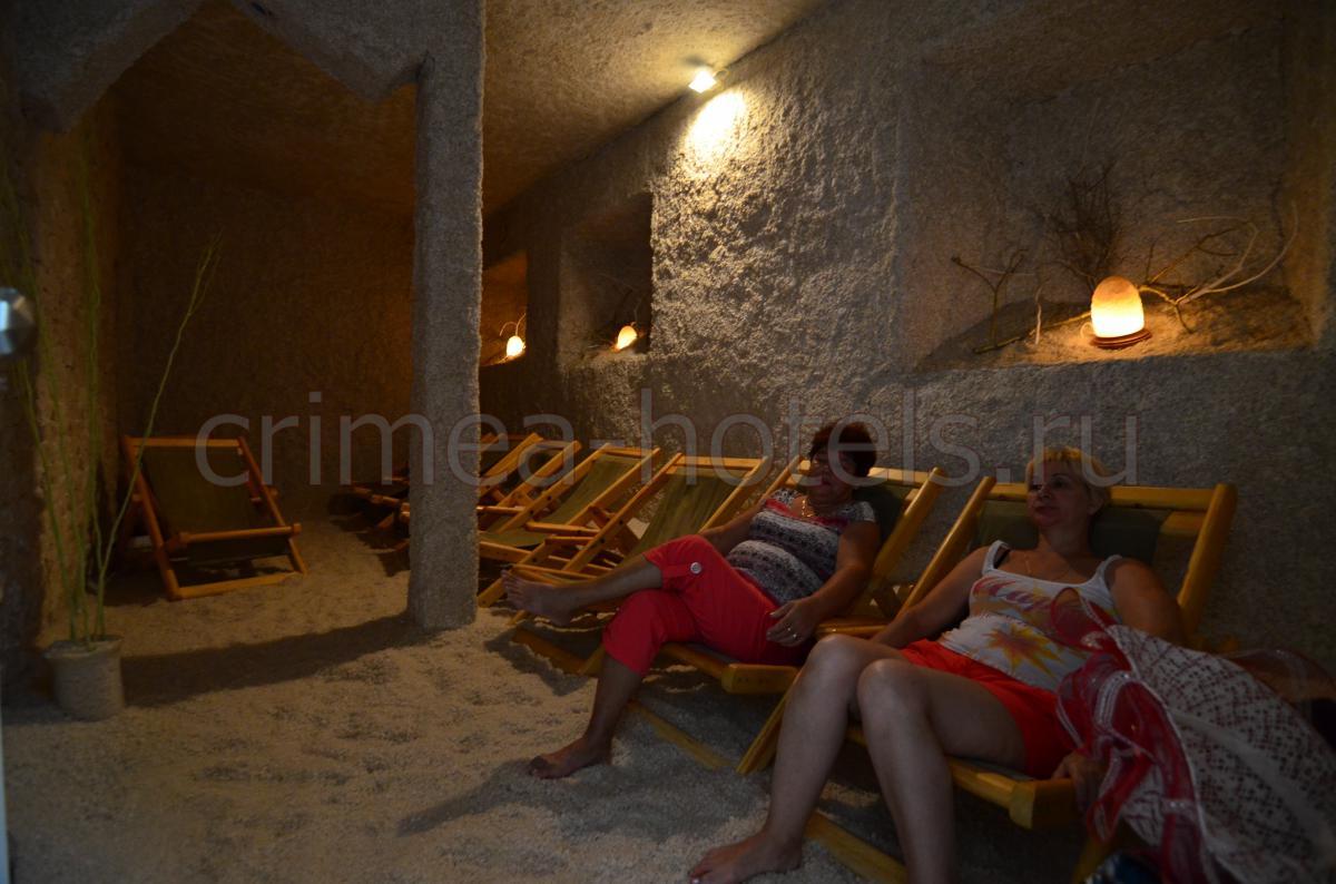 Гостиница Крым Евпатория Соляная пещера