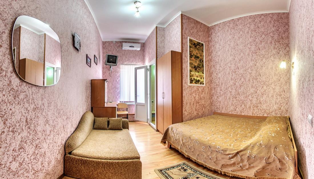 Гостиница Крым Евпатория Стандарт 1 комнатный 2 местный №12