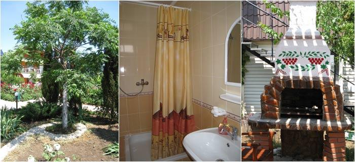 Гостиничный Комплекс Киви-Манго-Папая-Виктория Феодосия парк, комната
