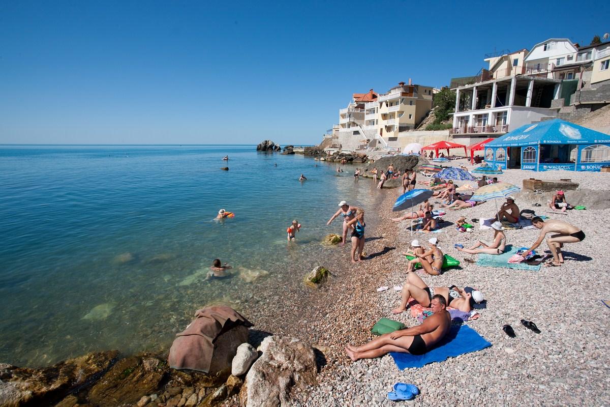 База Отдыха Shangri-La «Райский уголок» Форос Пляж