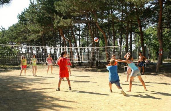 Детский Оздоровительный Лагерь Мандарин Песчаное Пионербол