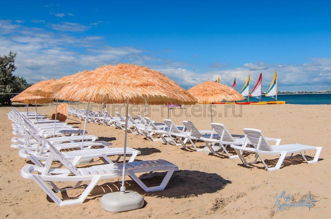 Детский Оздоровительный Лагерь Smart Camp (Смарт кэмп) Заозерное Пляж